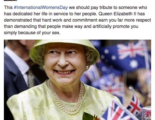 #IWD365 – because one day isn't enough for Abetz